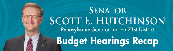 Senator Scott Hutchinson E-Newsletter